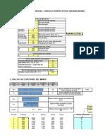 Calculo Tanque API 650 Tabla