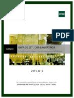 Guia de Linguistica Antropología 2015-2016