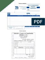 Documentos Comerciales Imagenes