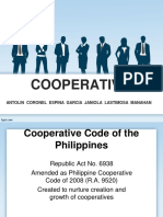 Cooperatives pH