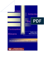 Economia. Analisis Macroecoomico de La Empresa. Carlos Leon y Maria Miranda