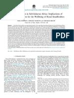 Agricultural Policy in Rwanda