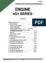 4g1 Engine Series