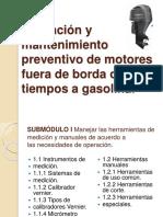 Operación y Mantenimiento Preventivo de Motores Fuera De
