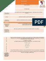 Actividad de Aprendizaje Secuencia Didáctica de Actividades 3.11