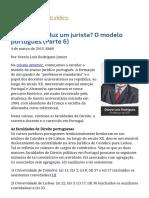 ConJur - Como se produz um jurista_ O modelo português (Parte 6).pdf