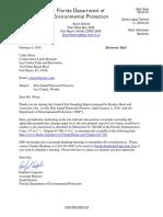 DEP Letter