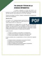 aspectoslegalesyticosdelaseguridadinformtica-130123235342-phpapp01