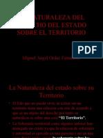 LA NATURALEZA DEL DERECHO DEL ESTADO SOBRE EL