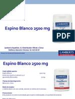 Espino Blanco 2500 Mg (8567-60) - Uso Profesional [2385]