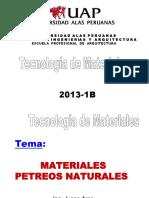 Tema 03- Materiales Petreos Naturales