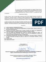 Consejo Consultivo Convocatoria 22 Feb 18