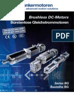BG Series Brushless DC Motors
