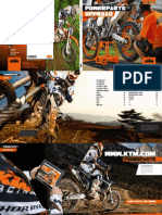 KTM 2012 Power Parts Off Road Catalog
