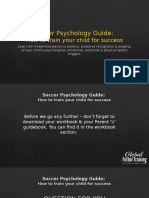 Soccer Psychology Guide Course