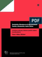 Revolución y Literatura en El Siglo Diecinueve. Fuentes, Documentos, Textos Críticos. Tomo I