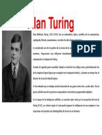 Alan Turing y Ramanujan