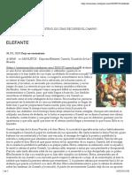 ELEFANTE | Mimi Blog