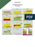 Calendario Letivo 2016-17 FFUP