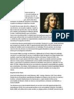 Biografía de Newton
