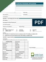 2018 Tree Planting Application Form (2)