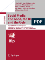 Social Media, The Good, The Bad and the Ugly