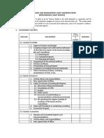 Govt Mgt Audit Report Template