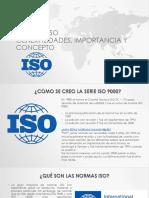 Sesión Normas ISO
