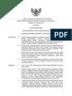 Peraturan Gubernur DIY Nomor 52 Tahun 2012