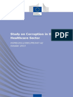 European Commission Study on Corruption in the Healthcare Sector 2017