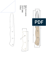 modelo de facas