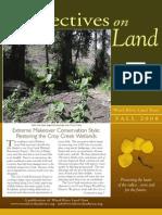Wood River Land Trust Newsletter Fall 2008
