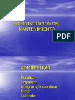 ADMINISTRACION DEL MANTENIMIENTO.ppt