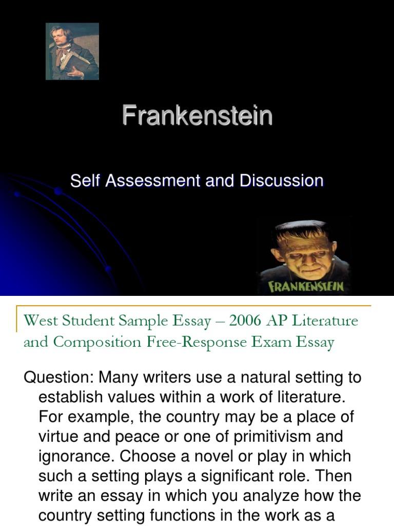 pathetic fallacy in frankenstein