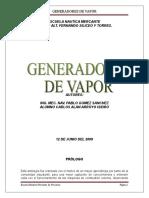 Compendio Generadores de Vapor (1)