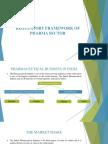 Regulatory - Pharma Sector
