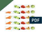 Writing Vegetables