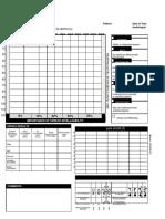 Sample Blank Audiogram