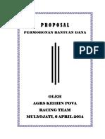 Proposal Balap