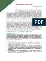 Medicina Legal Sexual - Peru