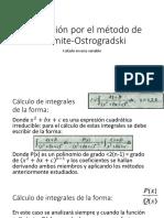 8 Integración Hermite-Ostrogradski