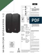 Manual Behringer 1C-BK
