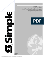 Simplex-4010+Installation++Operating+Manual+Rev+F