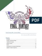 Final Fantasy RPG - 4ª Edição - CD 1 - Biblioteca Élfica