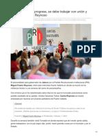 08/Febrero/2018 Para que Jalisco progrese se debe trabajar con unión y humildad Castro Reynoso