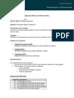 Guía Taller Ecosistema Digital