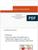 Clase Hiperplasia Endometrial