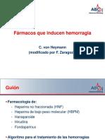 heparinas (anticoagulantes)