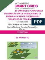 Plataforma Simulacion Intercambio Energia Redes Distribuidas Siguiendo Esquema p2p Peer to Peer