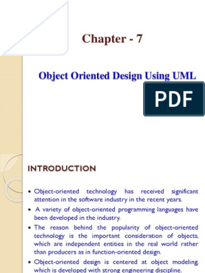 8 Ch7 Ood Using Uml Pptx Inheritance Object Oriented Programming Class Computer Programming